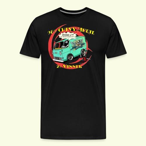 CHEVY METAL T Tryck png - Men's Premium T-Shirt