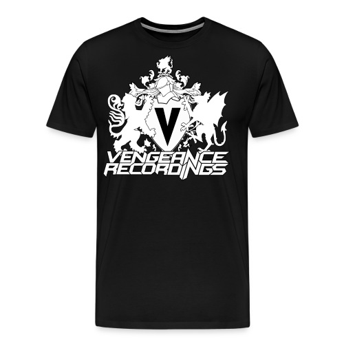 vengeancerecslarge2014LOGOinverted png - Men's Premium T-Shirt