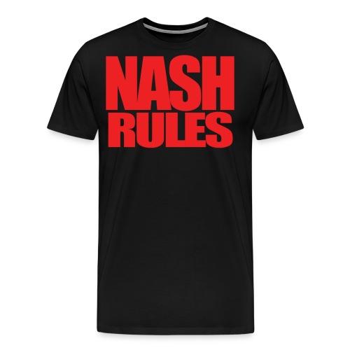 NashRules1 png - Men's Premium T-Shirt