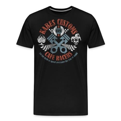 Kabes Cafe Racers T-Shirt - Men's Premium T-Shirt