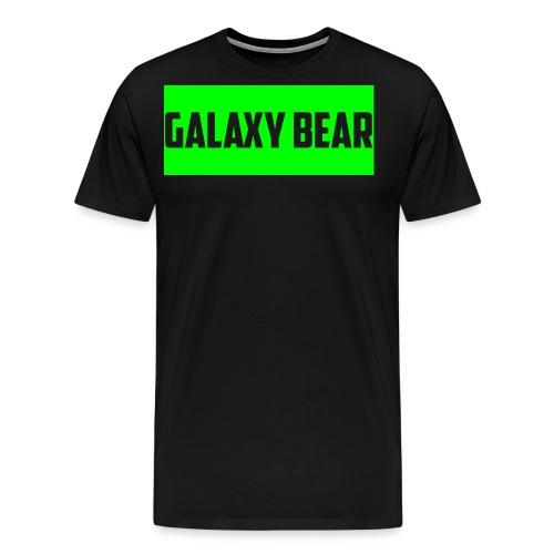 Galaxy Bear Lime png - Men's Premium T-Shirt