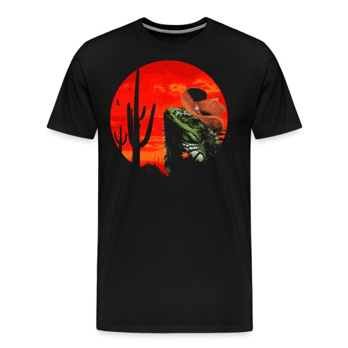 Wild Iguana - Men's Premium T-Shirt