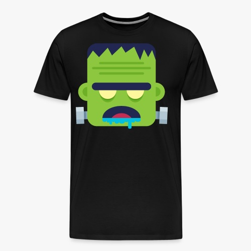 Monsters Frankie - Herre premium T-shirt