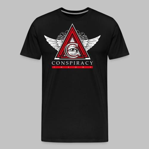 EYE-WINGS1 - Maglietta Premium da uomo