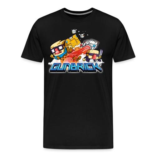 gunbrick png - Men's Premium T-Shirt