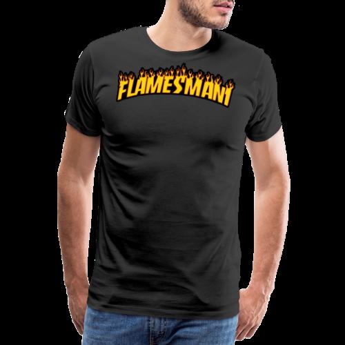 Flamemasher - Herre premium T-shirt