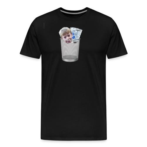 Verwijder je recycle bin met Sjoerd - Mannen Premium T-shirt