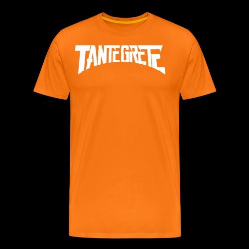 Tante Grete - Männer Premium T-Shirt