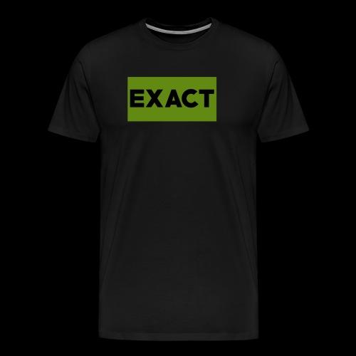 Exact Classic Green Logo - Men's Premium T-Shirt