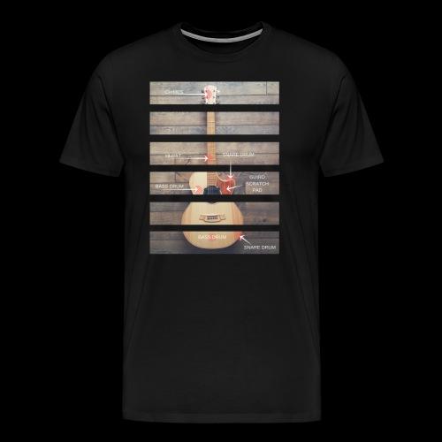 Anatomy Tshirt 3 png - Men's Premium T-Shirt