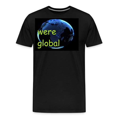 Were Global - Miesten premium t-paita