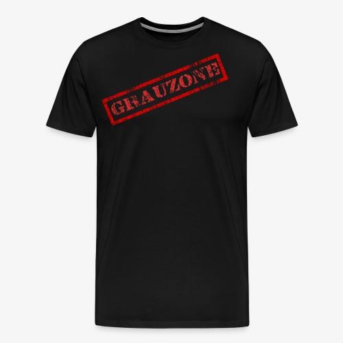 Grauzone - Männer Premium T-Shirt