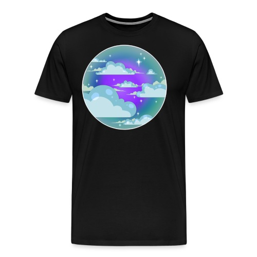 clouds - sky - Men's Premium T-Shirt