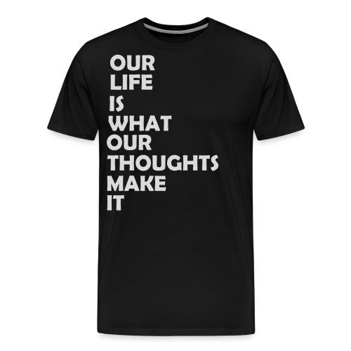 Sinn des Lebens - Männer Premium T-Shirt