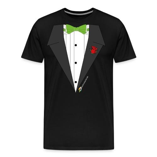 Gala Hero - Positivstarter Official Black Shirt - Männer Premium T-Shirt
