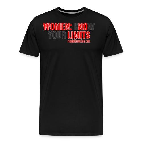new no limits - Men's Premium T-Shirt
