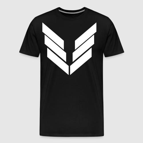 Uniteservers white png - Herre premium T-shirt