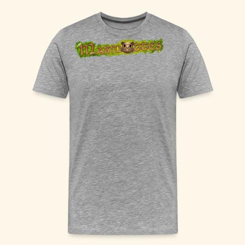 marmottes logo HD - T-shirt Premium Homme