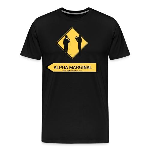 Alpha Marginal - T-shirt Premium Homme