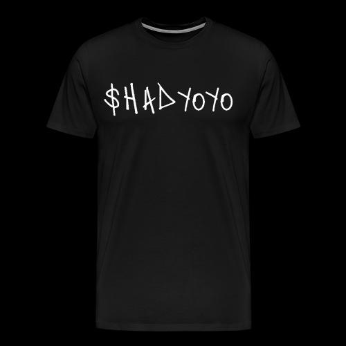 SHADY YOYO GRAFFITI SPELLOUT - Men's Premium T-Shirt