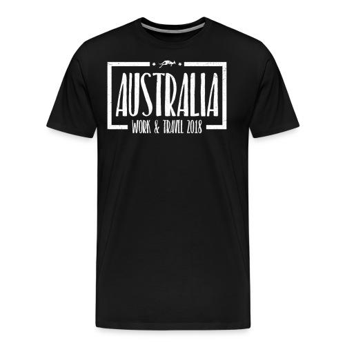 Australia Work & Travel Shirt - Männer Premium T-Shirt