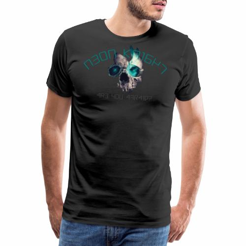Are you Afraid - Premium-T-shirt herr