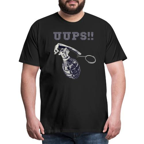 Uups - Männer Premium T-Shirt