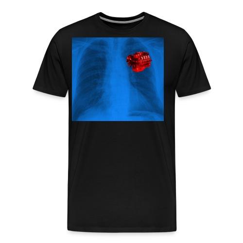 swedsih heart beat2 - Männer Premium T-Shirt
