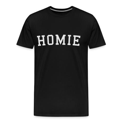 homierent logo white - Men's Premium T-Shirt