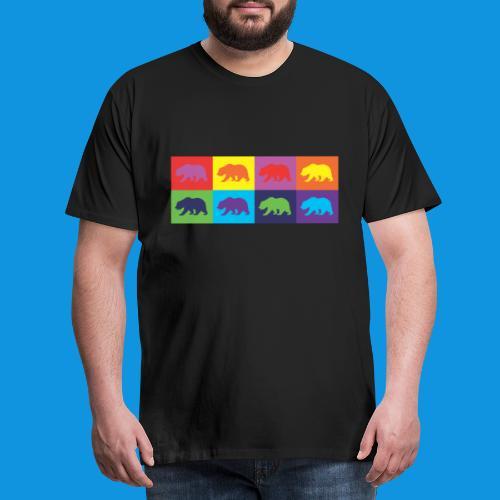 Warhol Bear tank - Men's Premium T-Shirt