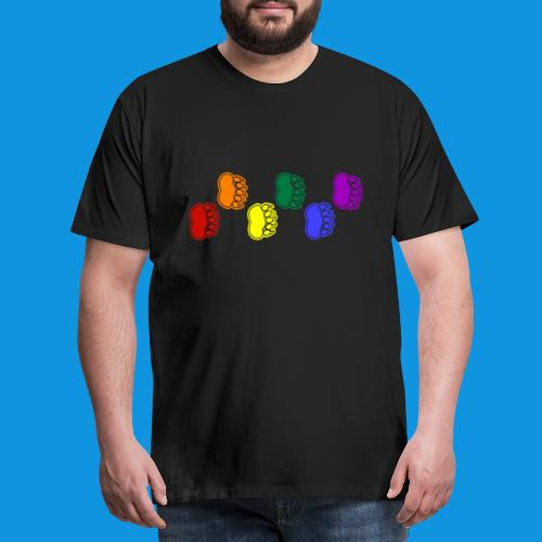 Rainbow Paws tank - Men's Premium T-Shirt
