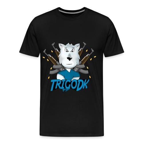 Ulven png - Herre premium T-shirt