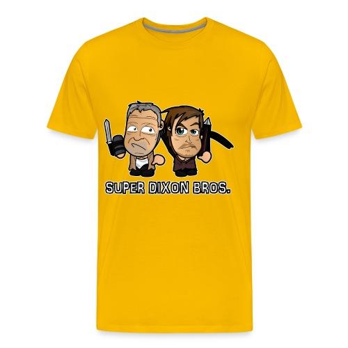 Chibi Super Dixon Bros - Men's Premium T-Shirt
