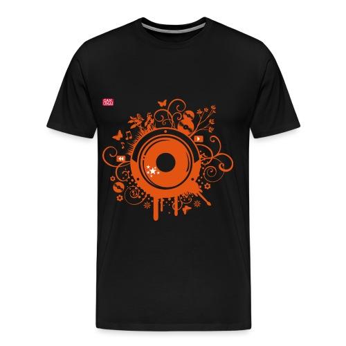 Enceinte et Ornements orange - T-shirt Premium Homme
