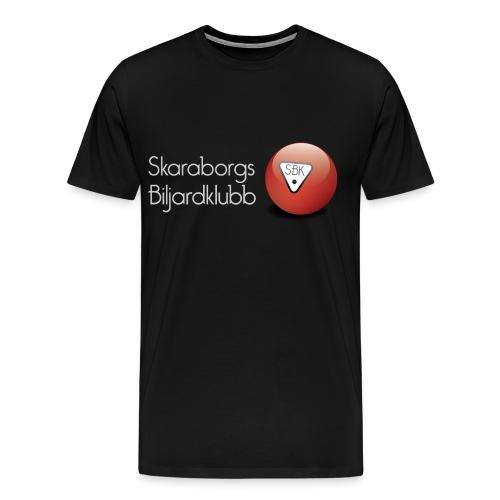 SBKgray - Premium-T-shirt herr