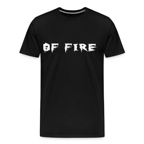 Offire Logo White - Men's Premium T-Shirt