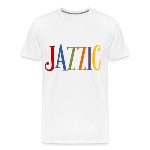 Jazzic Logo - Männer Premium T-Shirt