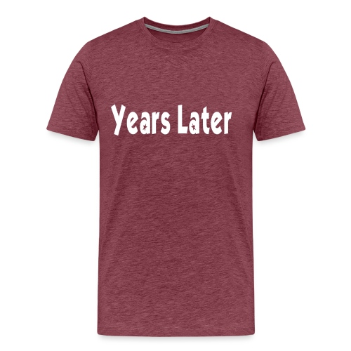 Bandname Years Later weiß - Männer Premium T-Shirt