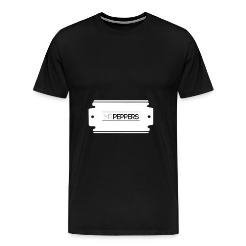 MRPEPPERS Logo weiss png - Männer Premium T-Shirt