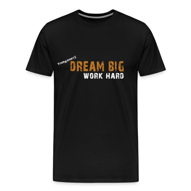 dream big orange png