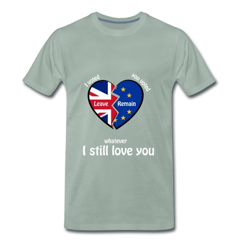i-voted-leave - Men's Premium T-Shirt
