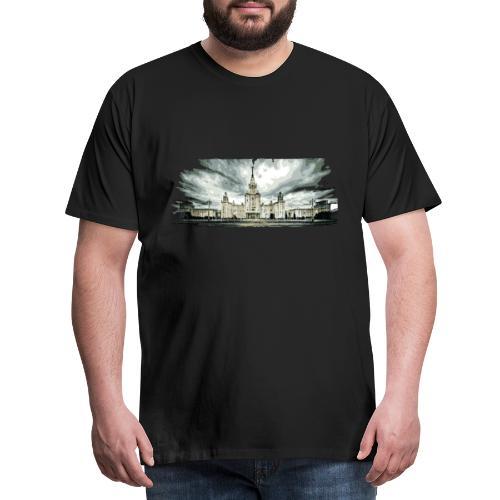 Moscow State University - Men's Premium T-Shirt