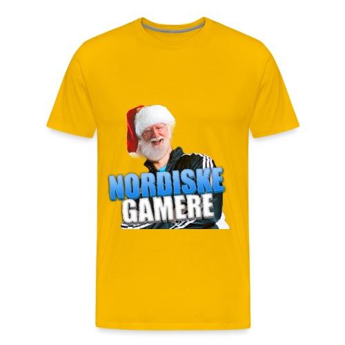 NordiskeGamereLOGO - Premium T-skjorte for menn