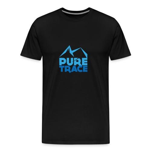 logo-PURE_TRACE-no-baseli - T-shirt Premium Homme