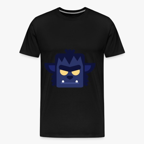 Mini Monsters - Lycan - Herre premium T-shirt