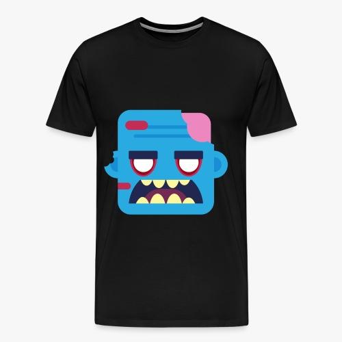 Mini Monsters - Zombob - Herre premium T-shirt