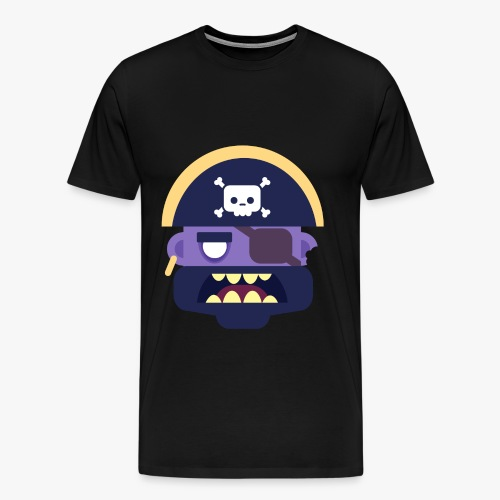 Mini Monsters - Captain Zed - Herre premium T-shirt