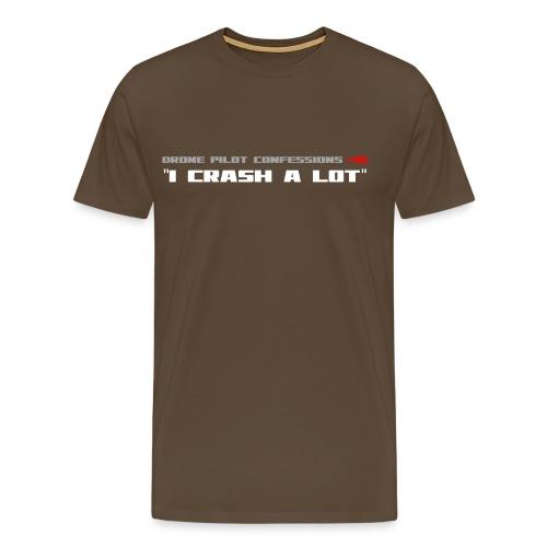 I CRASH A LOT - Men's Premium T-Shirt