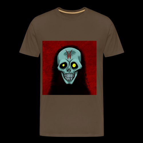 Ghost skull - Men's Premium T-Shirt