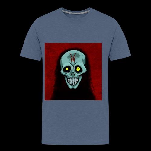 Ghost skull - Men's Premium T-Shirt